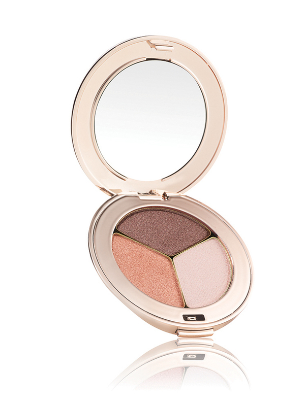 Pure Pressed Eye Shadow Triple - Pink Quartz